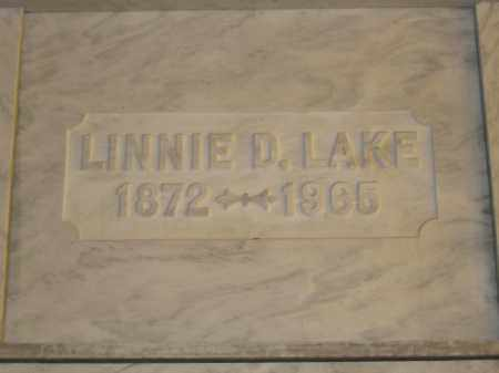 LAKE, LINNIE D. - Union County, Ohio | LINNIE D. LAKE - Ohio Gravestone Photos