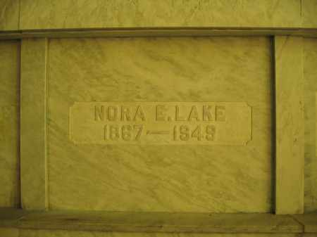 LAKE, NORA E. - Union County, Ohio | NORA E. LAKE - Ohio Gravestone Photos