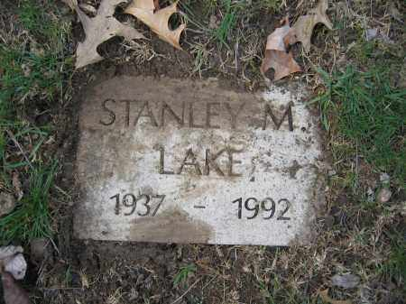 LAKE, STANLEY M. - Union County, Ohio | STANLEY M. LAKE - Ohio Gravestone Photos