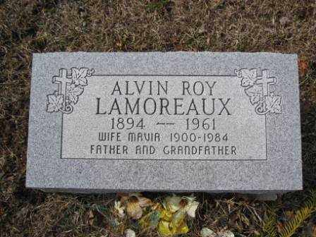 LAMOREAUX, ALVIN ROY - Union County, Ohio | ALVIN ROY LAMOREAUX - Ohio Gravestone Photos