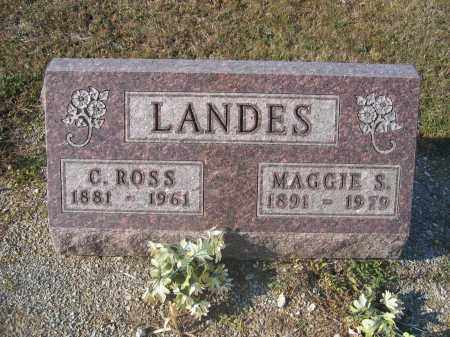 LANDES, MAGGIE S. - Union County, Ohio | MAGGIE S. LANDES - Ohio Gravestone Photos