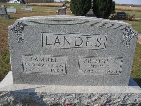 LANDES, SAMUEL - Union County, Ohio | SAMUEL LANDES - Ohio Gravestone Photos