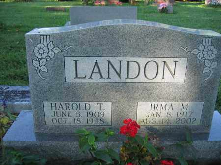 LANDON, HAROLD T. - Union County, Ohio | HAROLD T. LANDON - Ohio Gravestone Photos