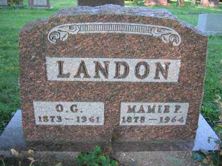 LANDON, O.G. - Union County, Ohio | O.G. LANDON - Ohio Gravestone Photos
