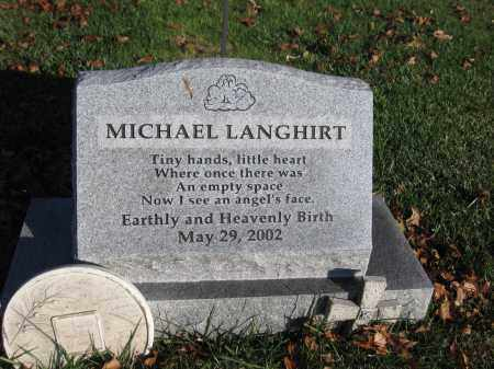 LANGHIRT, MICHAEL - Union County, Ohio | MICHAEL LANGHIRT - Ohio Gravestone Photos
