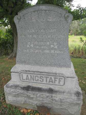 LANGSTAFF, ASA - Union County, Ohio | ASA LANGSTAFF - Ohio Gravestone Photos
