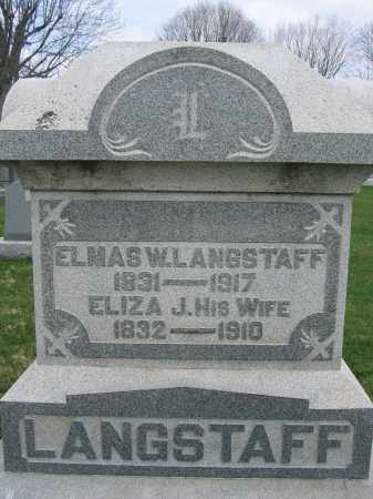 LANGSTAFF, ELMAS W. - Union County, Ohio | ELMAS W. LANGSTAFF - Ohio Gravestone Photos