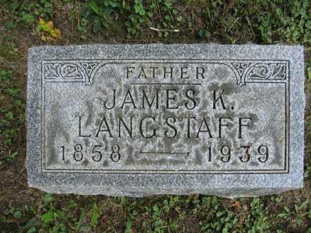LANGSTAFF, JAMES K. - Union County, Ohio | JAMES K. LANGSTAFF - Ohio Gravestone Photos