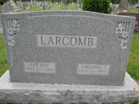LARCOMB, LEE ROY - Union County, Ohio | LEE ROY LARCOMB - Ohio Gravestone Photos