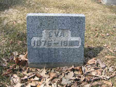LAUGHREY, EVA - Union County, Ohio | EVA LAUGHREY - Ohio Gravestone Photos