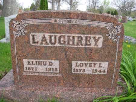 LAUGHREY, ELIHU D. - Union County, Ohio | ELIHU D. LAUGHREY - Ohio Gravestone Photos