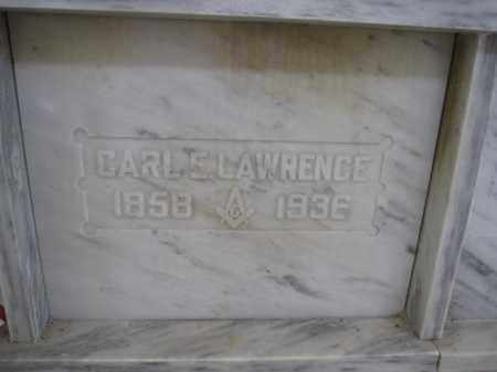LAWRENCE, CARL E. - Union County, Ohio | CARL E. LAWRENCE - Ohio Gravestone Photos