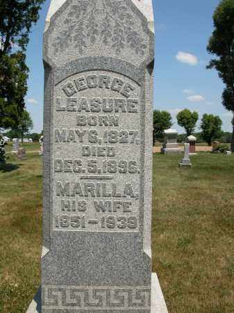 LEASURE, MARILLA - Union County, Ohio | MARILLA LEASURE - Ohio Gravestone Photos