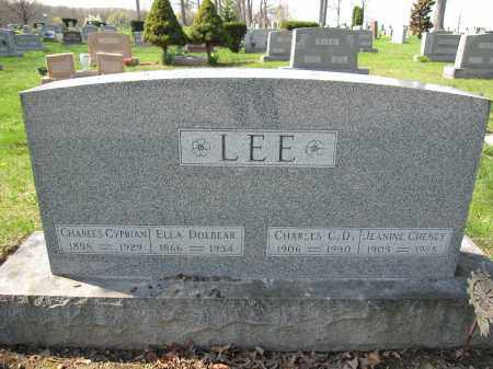 LEE, CHARLES CYPRIAN - Union County, Ohio | CHARLES CYPRIAN LEE - Ohio Gravestone Photos