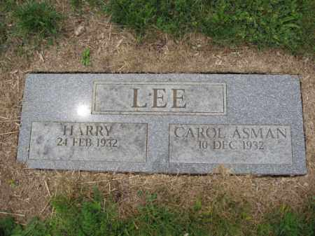 LEE, HARRY - Union County, Ohio | HARRY LEE - Ohio Gravestone Photos