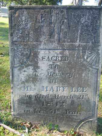 LEE, MARY - Union County, Ohio | MARY LEE - Ohio Gravestone Photos