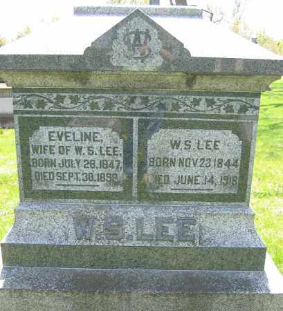 LEE, EVELINE - Union County, Ohio | EVELINE LEE - Ohio Gravestone Photos