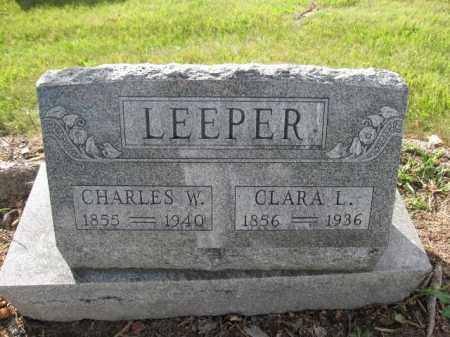 LEEPER, CHARLES W. - Union County, Ohio | CHARLES W. LEEPER - Ohio Gravestone Photos