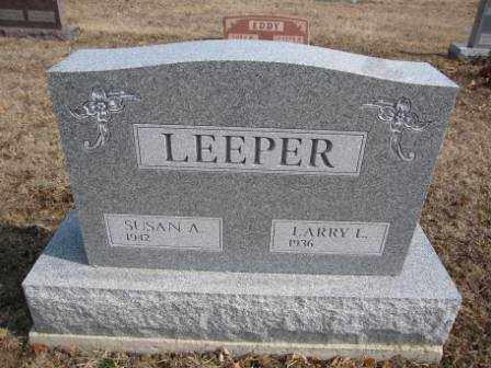 LEEPER, LARRY L. - Union County, Ohio | LARRY L. LEEPER - Ohio Gravestone Photos