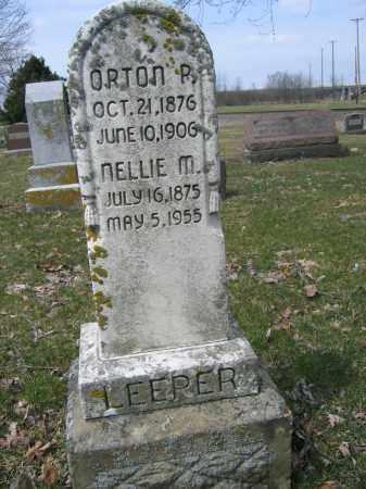 LEEPER, ORTON P. - Union County, Ohio | ORTON P. LEEPER - Ohio Gravestone Photos