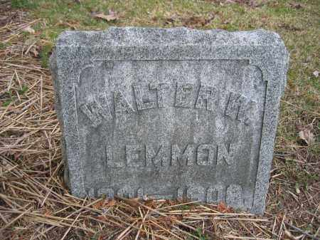 LEMMON, WALTER W. - Union County, Ohio | WALTER W. LEMMON - Ohio Gravestone Photos