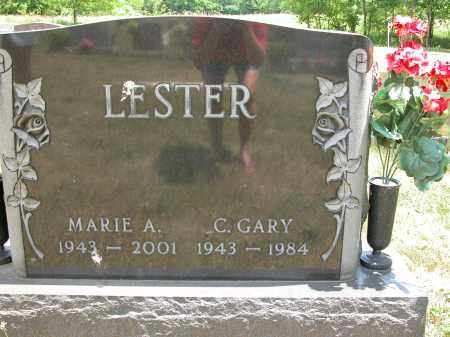 LESTER, C. GARY - Union County, Ohio | C. GARY LESTER - Ohio Gravestone Photos