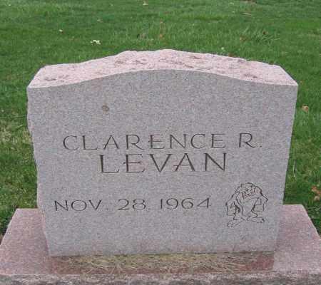 LEVAN, CLARENCE R. - Union County, Ohio | CLARENCE R. LEVAN - Ohio Gravestone Photos