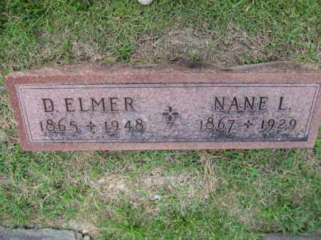 LIGGETT, DAVID ELMER - Union County, Ohio | DAVID ELMER LIGGETT - Ohio Gravestone Photos