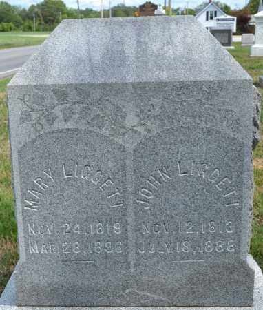 LIGGETT, JOHN - Union County, Ohio | JOHN LIGGETT - Ohio Gravestone Photos