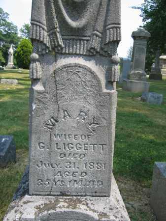 LIGGETT, MARY - Union County, Ohio   MARY LIGGETT - Ohio Gravestone Photos