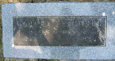 LIGGETT, MARTHA E. - Union County, Ohio | MARTHA E. LIGGETT - Ohio Gravestone Photos