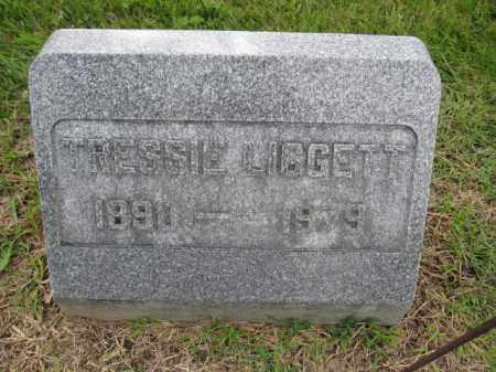 LIGGETT, TRESSIE - Union County, Ohio | TRESSIE LIGGETT - Ohio Gravestone Photos