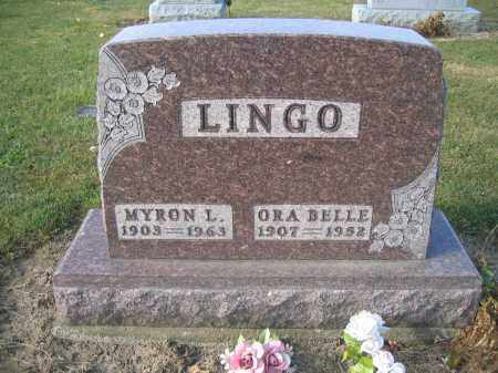 LINGO, MYRON L. - Union County, Ohio | MYRON L. LINGO - Ohio Gravestone Photos