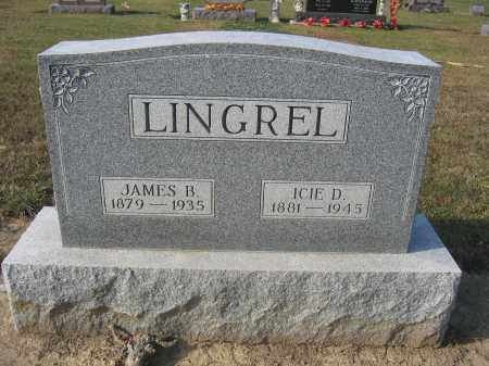 LINGREL, JAMES B. - Union County, Ohio | JAMES B. LINGREL - Ohio Gravestone Photos