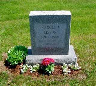 MITCHELL LISTON, FRANCES MARGARET - Union County, Ohio   FRANCES MARGARET MITCHELL LISTON - Ohio Gravestone Photos