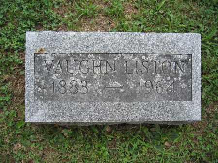 LISTON, VAUGHN - Union County, Ohio | VAUGHN LISTON - Ohio Gravestone Photos