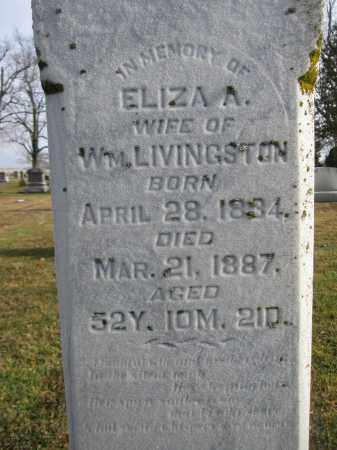 LIVINGSTON, ELIZA ANN LATSON - Union County, Ohio | ELIZA ANN LATSON LIVINGSTON - Ohio Gravestone Photos