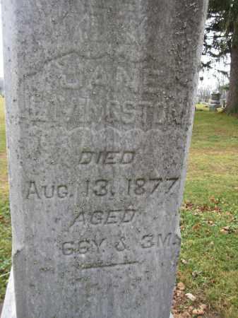 LIVINGSTON, JANE GRAHAM - Union County, Ohio | JANE GRAHAM LIVINGSTON - Ohio Gravestone Photos