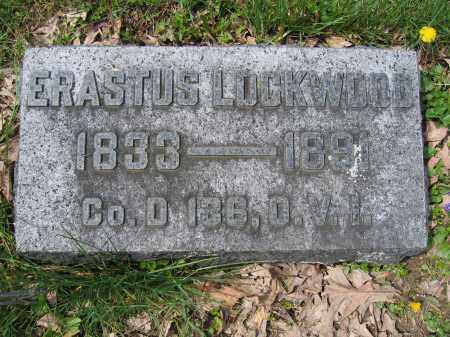 LOCKWOOD, ERASTUS - Union County, Ohio | ERASTUS LOCKWOOD - Ohio Gravestone Photos