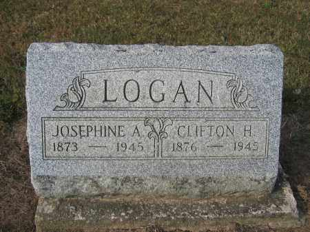LOGAN, JOSEPHINE A. - Union County, Ohio | JOSEPHINE A. LOGAN - Ohio Gravestone Photos