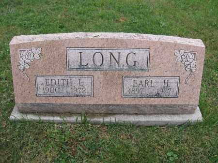 LONG, EARL H. - Union County, Ohio | EARL H. LONG - Ohio Gravestone Photos