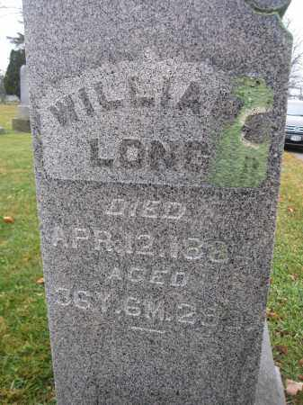 LONG, WILLIAM - Union County, Ohio | WILLIAM LONG - Ohio Gravestone Photos