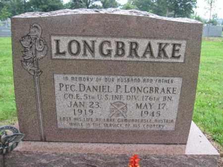 LONGBRAKE, DANIEL P. - Union County, Ohio | DANIEL P. LONGBRAKE - Ohio Gravestone Photos