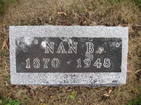 LONGBRAKE, NAN B. WESTLAKE - Union County, Ohio | NAN B. WESTLAKE LONGBRAKE - Ohio Gravestone Photos