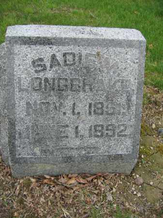 LONGBRAKE, SADIE M. - Union County, Ohio | SADIE M. LONGBRAKE - Ohio Gravestone Photos