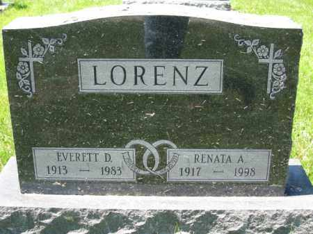 LORENZ, EVERTT D. - Union County, Ohio | EVERTT D. LORENZ - Ohio Gravestone Photos
