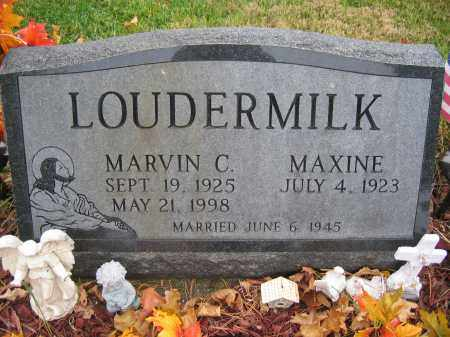 LOUDERMILK, MAXINE - Union County, Ohio | MAXINE LOUDERMILK - Ohio Gravestone Photos