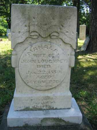 LOUGHREY, MAHALA - Union County, Ohio | MAHALA LOUGHREY - Ohio Gravestone Photos