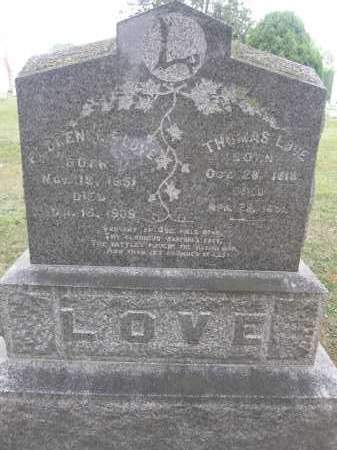 LOVE, THOMAS - Union County, Ohio | THOMAS LOVE - Ohio Gravestone Photos