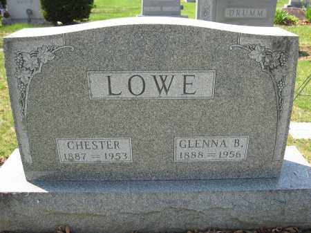 LOWE, GLENNA B. - Union County, Ohio | GLENNA B. LOWE - Ohio Gravestone Photos